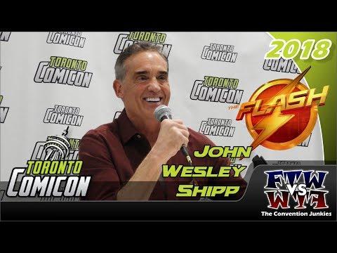John Wesley Shipp (The Flash) Toronto ComiCon 2018 Full Panel