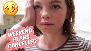 🤒 Sick Kids. Weekend Plans Cancelled | Family Vlog | The Good Bits