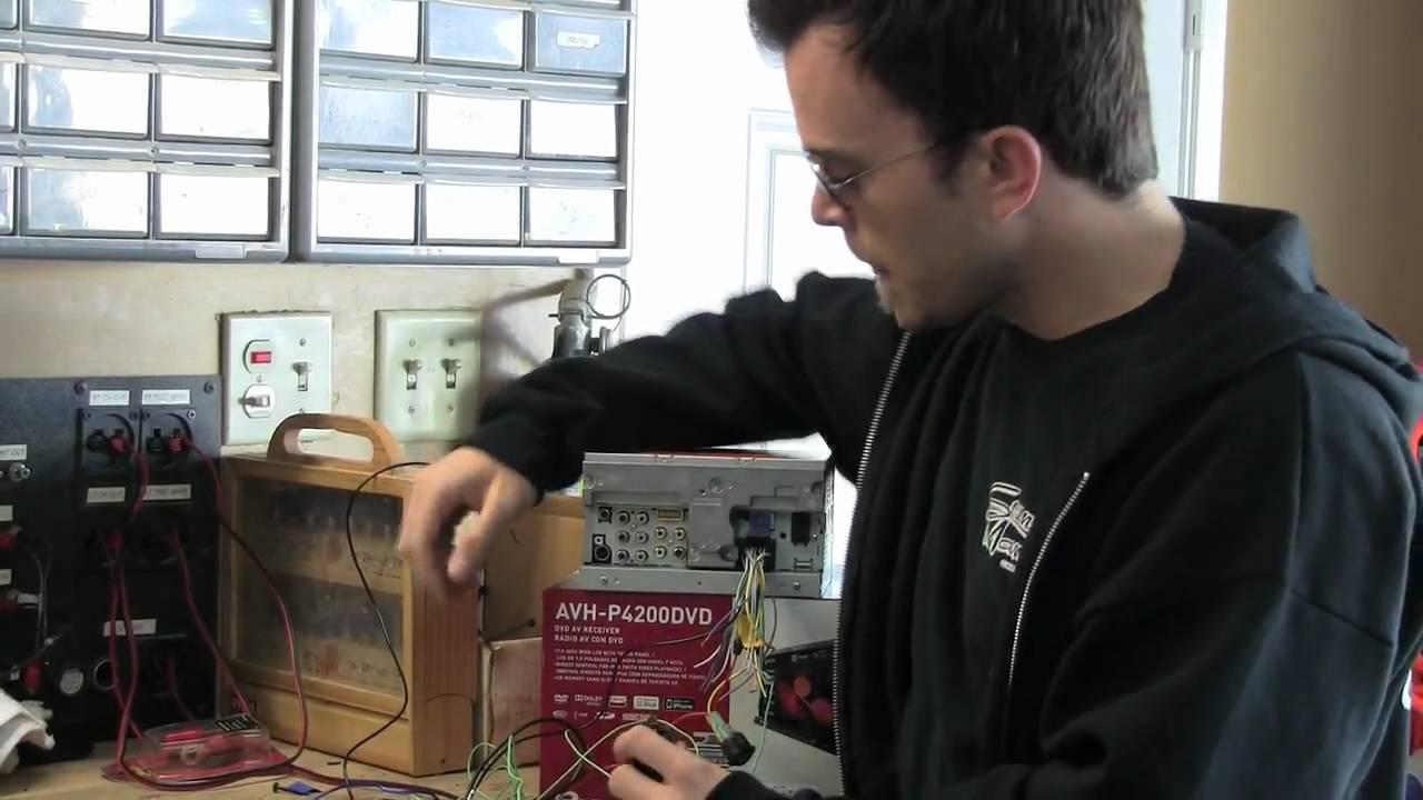Pioneer Avh P6500dvd Wiring Diagram In Addition Pioneer Avh P3200dvd