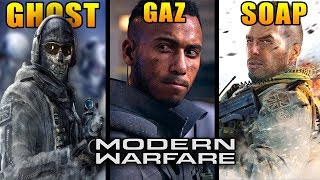 All 11 Returning Characters in Modern Warfare (Ghost, Soap, Gaz & More)