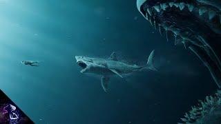 दुनिया की सबसे बड़ी शार्क    Largest Shark in the world (Megalodon) Hindi