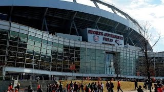 Fan falls 30 50 feet at Broncos' stadium-USA TODAY Sports