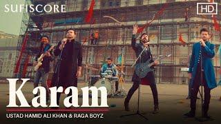 Karam – Ustad Hamid Ali Khan Ft Raga Boyz (Sufiscore) Video HD