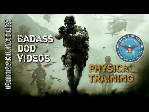 Badass DOD videos Physical Training