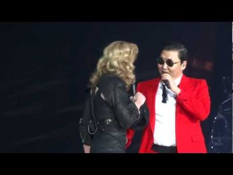 Baixar Madonna And Psy - MDNA Give It 2 Me / Gangnam Style / Music - Madison Square Garden