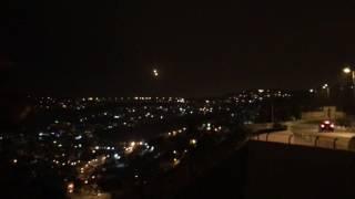 1:00 AM in Israel. 1/1/2017 ALERT WARNING UFO IN JERUSALEM? OR E.T. Friend or foe? Angels-Demons