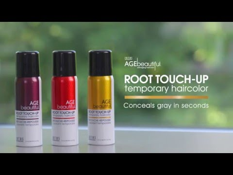 CONCEALS GRAY IN SECONDS; Quickly & easily conceals gray roots in seconds; Water, sweat, & stain resistant and lasts until your next shampoo; The 8 versatile shades complement AGEbeautiful shades and blend with any other haircolor; Dry powder spray adds volume at the roots; Delicately covers thinning patches so hair looks naturally full & beautiful