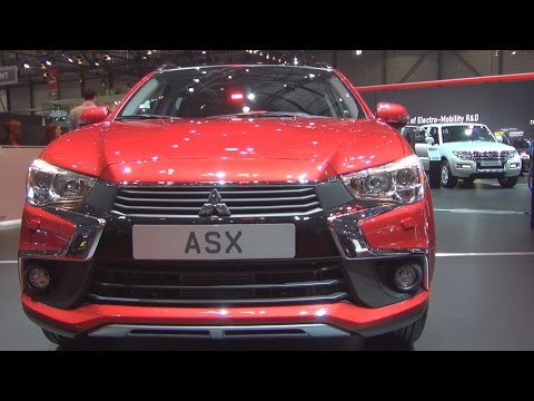 Mitsubishi ASX 4WD (2016) Exterior and Interior in 3D