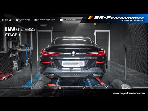 BMW G15 M850i / Stage 1 By BR-Performance