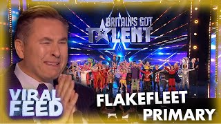 GOLDEN BUZZER TUESDAY - FLAKEFLEET PRIMARY SCHOOL| VIRAL FEED