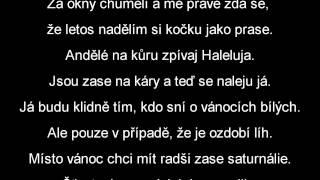 Xindl X - Štědrý večer nastal | lyrics text | HD