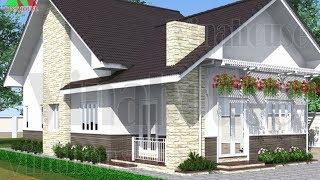 Bạn muốn có cuộc sống mỹ - Hãy xây nhà kiểu mỹ đẹp giá rẻ này | Nhà cấp 4 đẹp