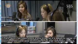 [ENG SUB] 140924 TaeTiSeo (SNSD) on Old School Radio - Part 1/3