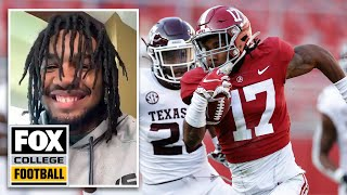 Jaylen Waddle on Alabama recruiting, his versatility and trusting Nick Saban — RJ Young   CFB ON FOX