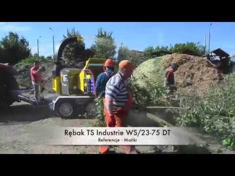 Rębak TS Industrie WS/23-75 DT - referencje Mońki