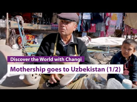 Mothership goes to Uzbekistan (Part 1)