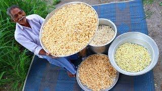 Popcorn 🌽 Recipe Without Oven By Grandpa   Multi Flavored Crispy Pop Corn Recipe
