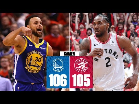Kevin Durant goes down, Warriors hold off Raptors to force Game 6 | 2019 NBA Finals Highlights