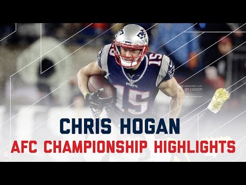 Chris Hogan Sets Team Record with 180 Rec. Yards! | Steelers vs. Patriots | AFC Champ Highlights