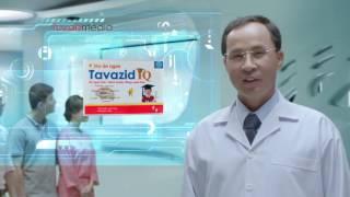 Phim quảng cáo Siro ăn ngon Tavazid IQ làm TVC quảng cáo Tứ Vân Media