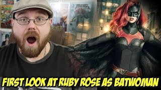 First Look at Ruby Rose as Batwoman!!!