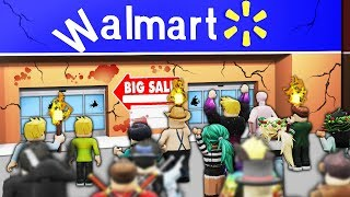 ROBLOX WALMART RAID WITH 1000+ PEOPLE