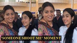 When Janhvi Kapoor apologised for calling Smriti Irani 'au..