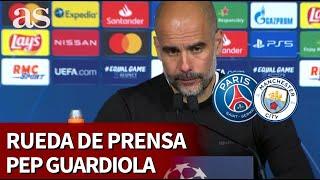 PSG 1 - MANCHESTER CITY 2 | Rueda de prensa de Guardiola | Diario As