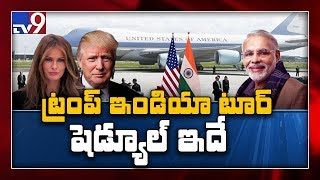 Donald Trump is first US President to visit India with wif..