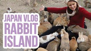 Japan Vlog | Ōkunoshima / Rabbit Island - Day 4 | ZoeTwoDots