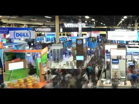 VMworld 2016 US Solutions Exchange Highlight