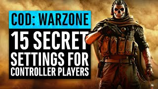 Warzone | 15 Secret Settings for Controller Players (PS4 & Xbox One) | Call of Duty Modern Warfare