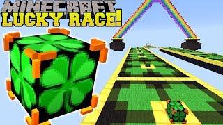 Minecraft: INSANE IRISH LUCKY BLOCK RACE - Lucky Block Mod - Modded Mini-Game