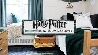 a HARRY POTTER dorm room?!