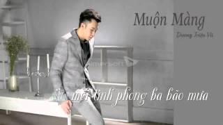 muon mang duong trieu vu beat karaoke