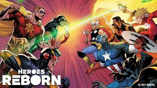 HEROES REBORN Event Trailer | Marvel Comics