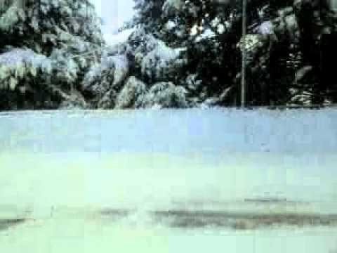 Pescocostanzo con la neve 26-12-2011  ore 8 mattino
