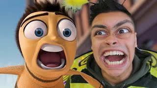 bee movie but instead its me recreating the bee movie then playing the bee movie the game
