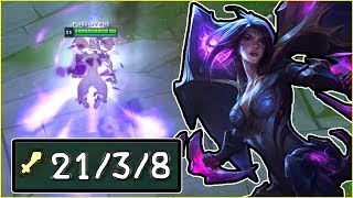 KAI'SA JUNGLE IS LITERALLY BUSTED!! 900+ HP ULT SHIELD LIKE WHAT?   League of Legends Gameplay