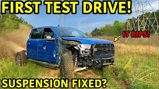 Rebuilding A Wrecked 2019 Ford Raptor Part 4