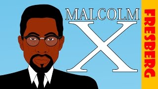 Malcolm X Biography: Black History Month (Educational Videos for Students)