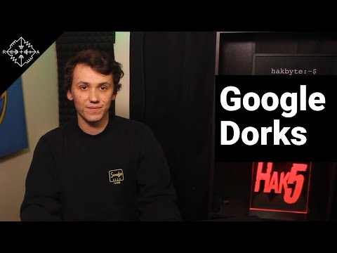 HakByte: How to find anything on the internet with Google Dorks