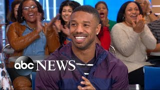 Michael B. Jordan on sharing a name with an NBA legend