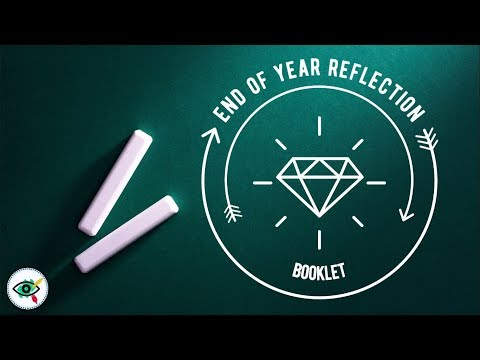 video End of year reflection booklet