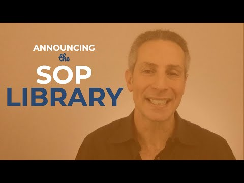 Accomplish More + Faster With the DNAcademy SOP Library