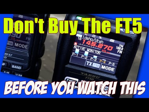 Watch this before you buy the Yaesu FT5D Ham Radio