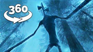 360 Video || Siren Head 360 Part 3 || Horror Short Film VR