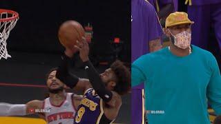 Wesley Matthews saves the Lakers | Knicks vs Lakers