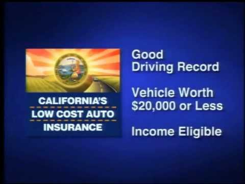 California's Low Cost Automobile Insurance Program