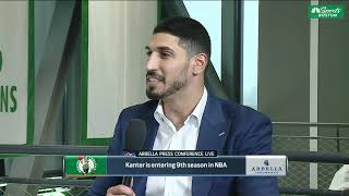 Exclusive interview with Enes Kanter